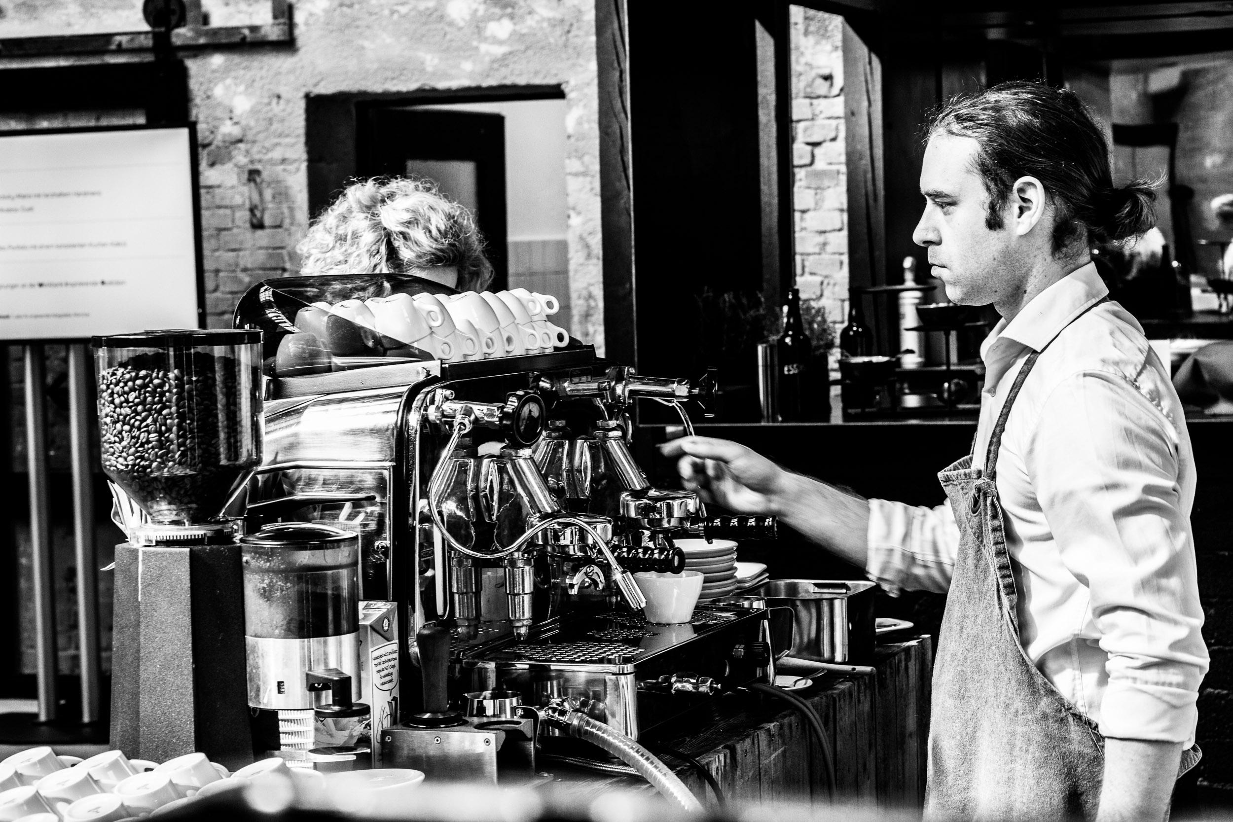 Kaffeespezialitäten FAEMA E61